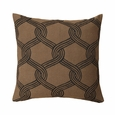 Marimekko Sulhasmies Brown Throw Pillow