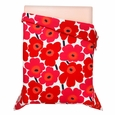 Marimekko Unikko Red Percale Bedding