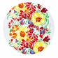 Marimekko Ursula White/Multi Round Tablecloth
