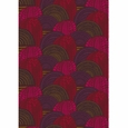 Marimekko Vuorilaakso Red / Brown Fabric