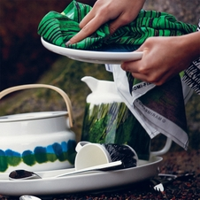 Marimekko Weather Diary & Coordinating Dinnerware