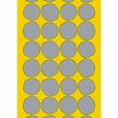Marimekko Yellow/Grey Kivet Fabric