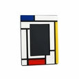 "Pacific Connections Lacquered Mondrian 4 x 6"" Picture Frame"