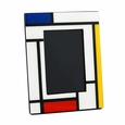 "Pacific Connections Lacquered Mondrian 5 x 7"" Picture Frame"