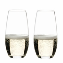 "Riedel ""O� Champagne Tumbler Wine Glasses � Set of 2"