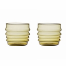 Socks Rolled Down Olive Tumblers - Set of 2