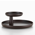 Vitra Teak Brown Rotary Tray