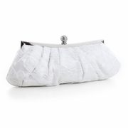 White Lace Evening Bag