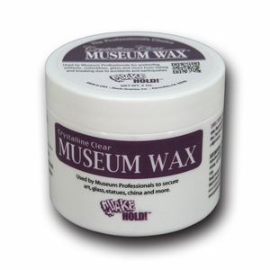 Crystalline Clear Museum Wax 2oz