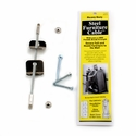 QuakeHOLD! Steel Furniture Cable - 4 in