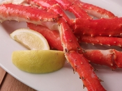 Wild Red King Crab Legs <br>Frozen 5 lb.