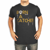 Baseballism Men's Born A Catcher T-Shirt BORN CATCH