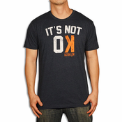 Baseballism Men's Not OK T-Shirt NOT OK