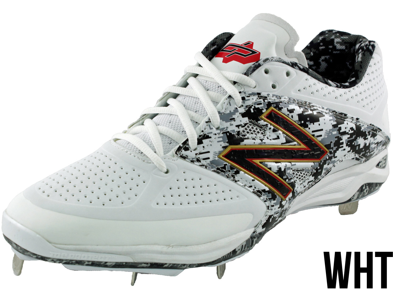 new balance black and gold baseball cleats