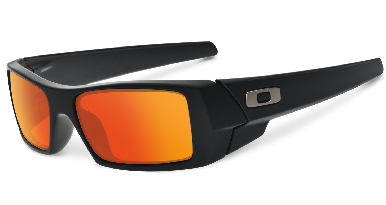 oakley sunglasses black orange  oakley gascan matte black ruby iridium sunglasses 26 246 3.png