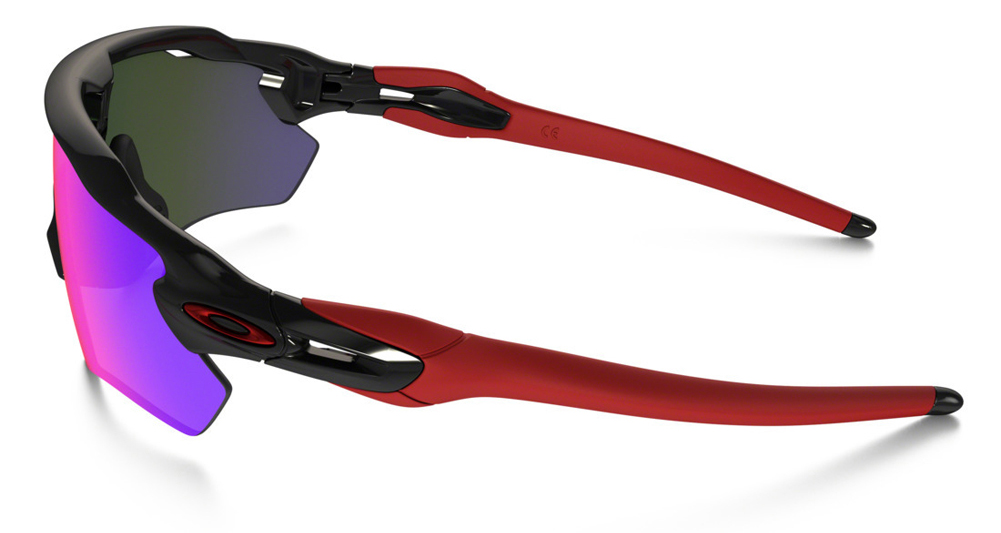 Oakley Radar Path Red Iridium