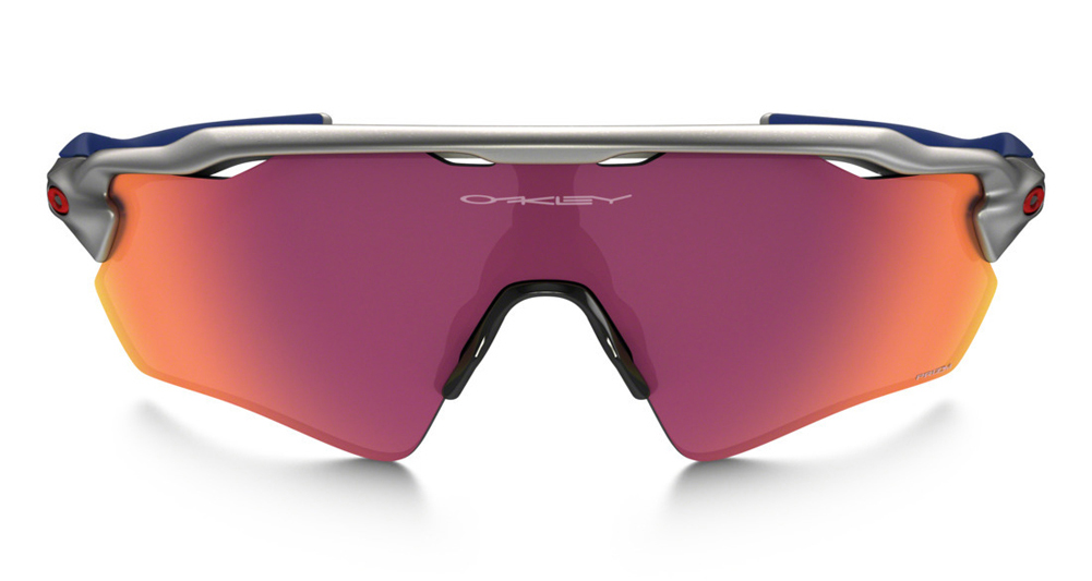 red white and blue oakley sunglasses  Oakley Radar EV Path Prizm Field MLB Collection Silver/Red/Blue ...