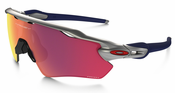 Oakley Radar EV Path Prizm Field MLB Collection Silver/Red/Navy Sunglasses OO9208-40