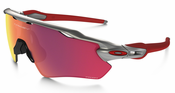 Oakley Radar EV Path Prizm Field MLB Collection Silver/Red/Red Sunglasses OO9208-32