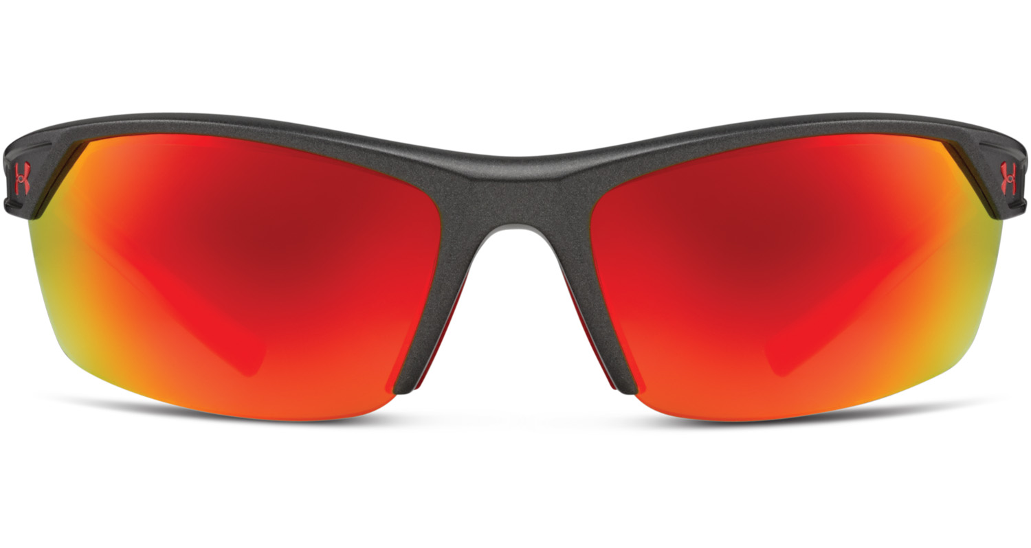 Orange Lense Sunglasses  under armour zone ii satin carbon frame w orange mirror lens
