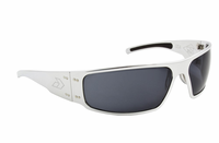 Magnum - Polished Chrome / Grey Polarized Lens