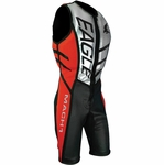 Eagle Mach 1 Jump Suit - Black, Red, and Silver