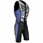 Eagle Mach 1 Jump Suit - Black, Royal Blue, and Silver