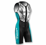Eagle Mystique Women's Jump Suit Teal, Silver, and Black
