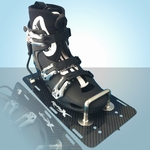 Reflex Hardshell Binding with Carbon Plate