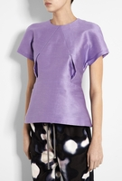 Acne Lavender Sweet Kick Silk Couture T-shirt