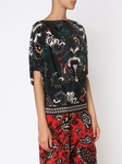Allover floral print blouse - 9.8