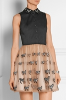 Animal Preena Zebra Embellished Dress