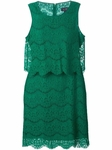 ARMANI JEANS layered lace dress