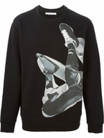 Basketball print sweatshirt