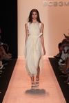 BCBGMAXAZRIA White Runway Inaya Dress