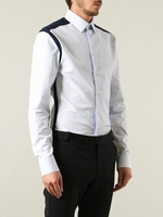 Bicolor Panelled Shirt