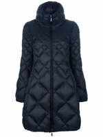 Black Bourdon Quilted Coat