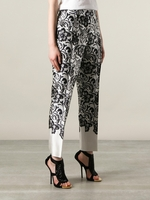 Black Lace Print Trouser (On Sale)