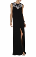Black Luciele Sleeveless Maxi Dress