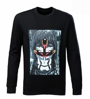 Black Tribal Man Sweatshirt