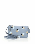 Blue Crosby Floral-print Leather Crossbody Bag - 5.22