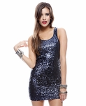 Bodycon Spangle Dress