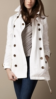 Twill Balmoral Cotton Trench Coat (On Sale)