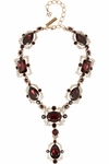Chandelier Crystal Necklace - 3.25