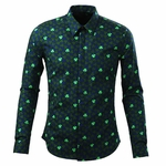 Clover Printed Dress Shirt