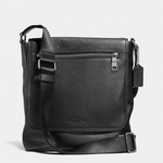 Black Sullivan Small Messenger