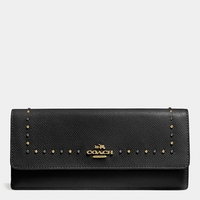 Coach EDGE studs soft wallet