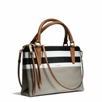 Gray The Mini Borough Bag Bar Stripe