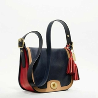 COACH LEGACY COLORBLOCK LEATHER PATRICIA