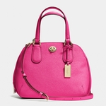 Coach Prince Street Mini Satchel In Crossgrain Leather